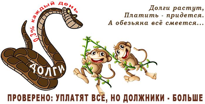 обезьяны 4-3-1